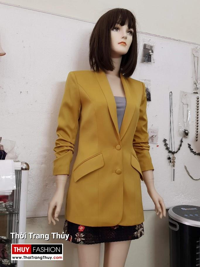 Áo vest nữ vải lụa tay xếp ly V691 thời trang thuỷ đà nẵng