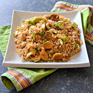 Brussels Sprout & Cashew Nut Fried Rice