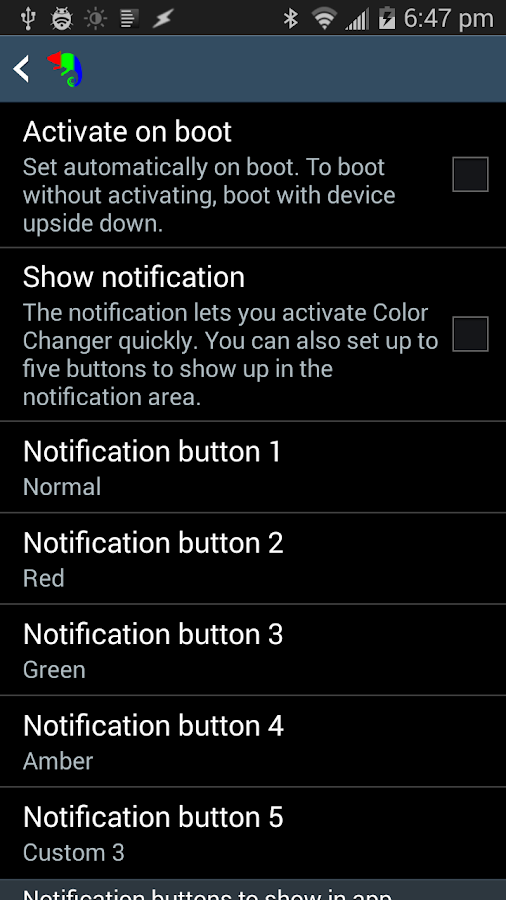 Color Changer Pro [root]- screenshot