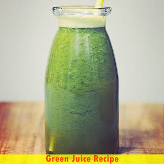 Green Juice Recipe for Weight Loss and Detox.