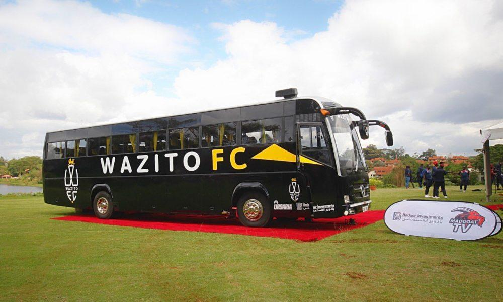 Wazito Football Club Launches Their Luxurious Bus the First In ...
