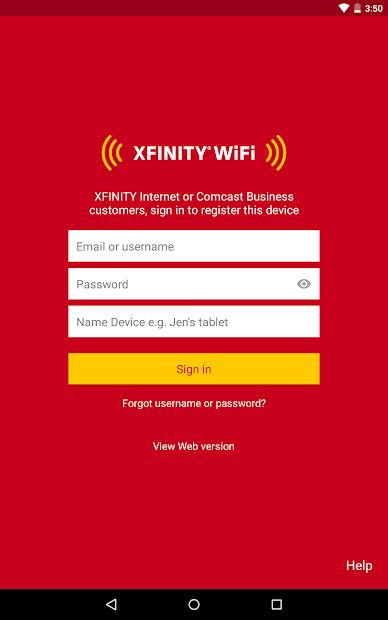 Secure Xfinity Wifi
