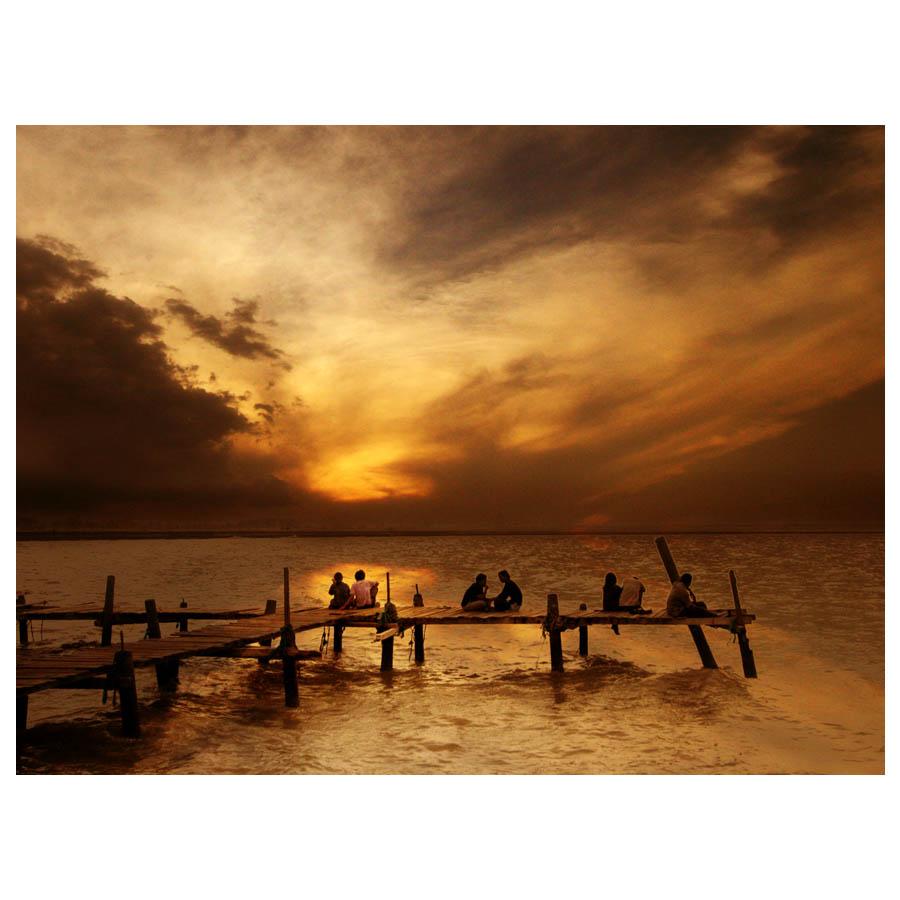 enjoy the sunset by Akhyar Fikri - News & Events World Events