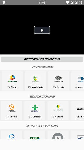 Mobile TV Brasil 1.0 screenshots 2
