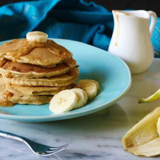 Peanut Butter Banana Pancakes.