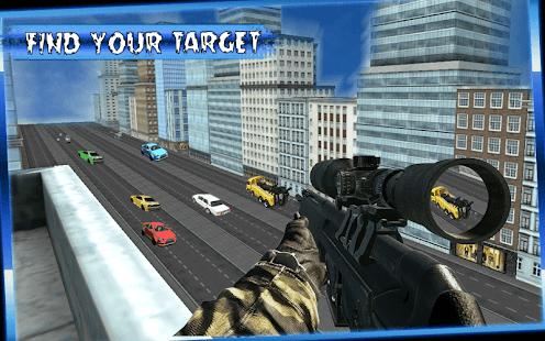 Sniper Car Shooter - náhled