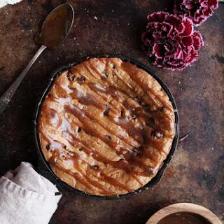Flourless Chocolate Chip Cookie Skillet.