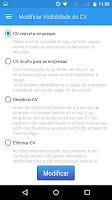Screenshot of Vagas de empregos