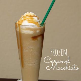 Frozen Caramel Macchiato
