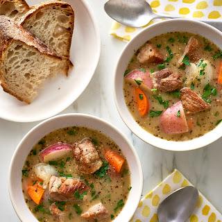 Slow Cooker Pork & Cider Stew.