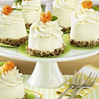 Mini Carrot Cupcakes.