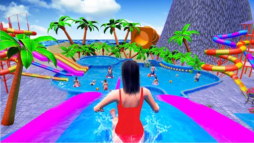 Water Sliding Adventure Park - Water Slide Games android2mod screenshots 15