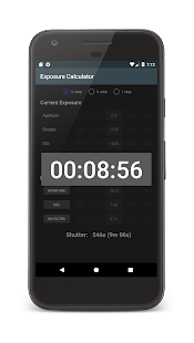 Exposure Calculator - náhled