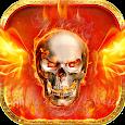 Cool FireSkull theme icon