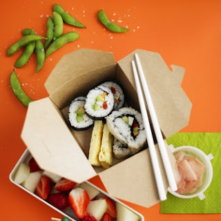 Light And Healthy Sushi Recipes.
