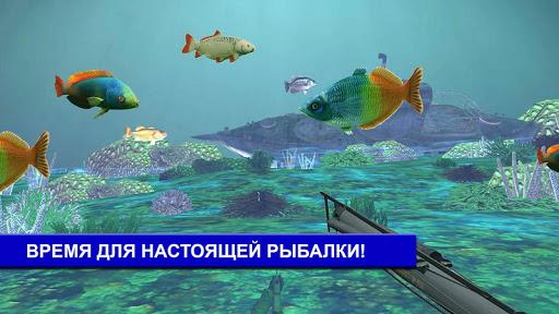 Подводная рыбалка: охота в 3D скачать на планшет Андроид