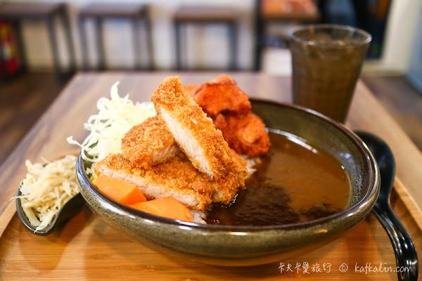 扒咖哩|日式風味雙醬銷魂炸豬排和牡蠣