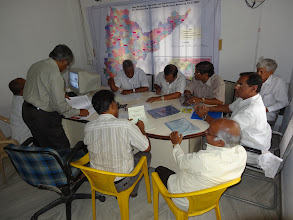 Photo: GHMC Election Officers at work