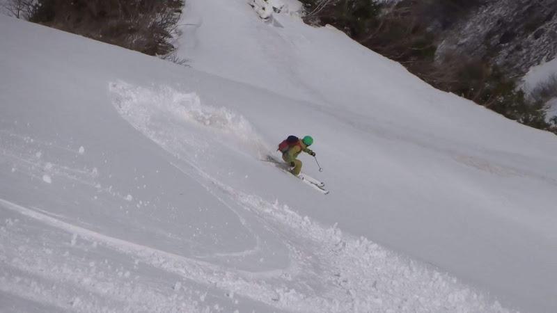 【八方尾根スキー場】バックカントリー・スキー