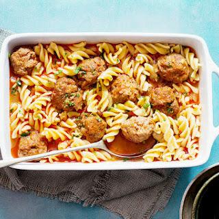 {Slow Cooker} Chicken Meatballs Soup.