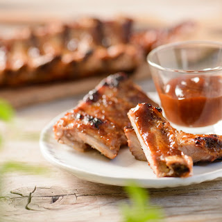 Honig-BBQ Spareribs