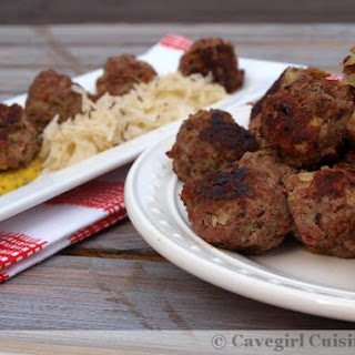 Super-Yummy Reuben Meatballs