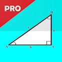 Right Angled Triangle Calculator and Solver - PRO icon