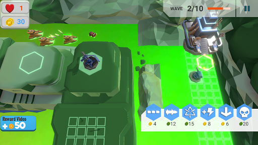 Battle Tower Defence screenshot 4