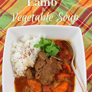 Lamb and Vegetable Soup.