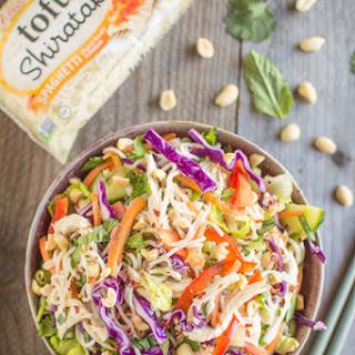 Chicken and Tofu Shirataki Vietnamese Salad Recipe