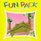Photo: Fun Pack Origami Dinosaurs by Froebel-Kan Co Heian Intl Pub Co (September 1997) paperback 10 pp 6.78 x 6.78 ins ISBN 0893468347