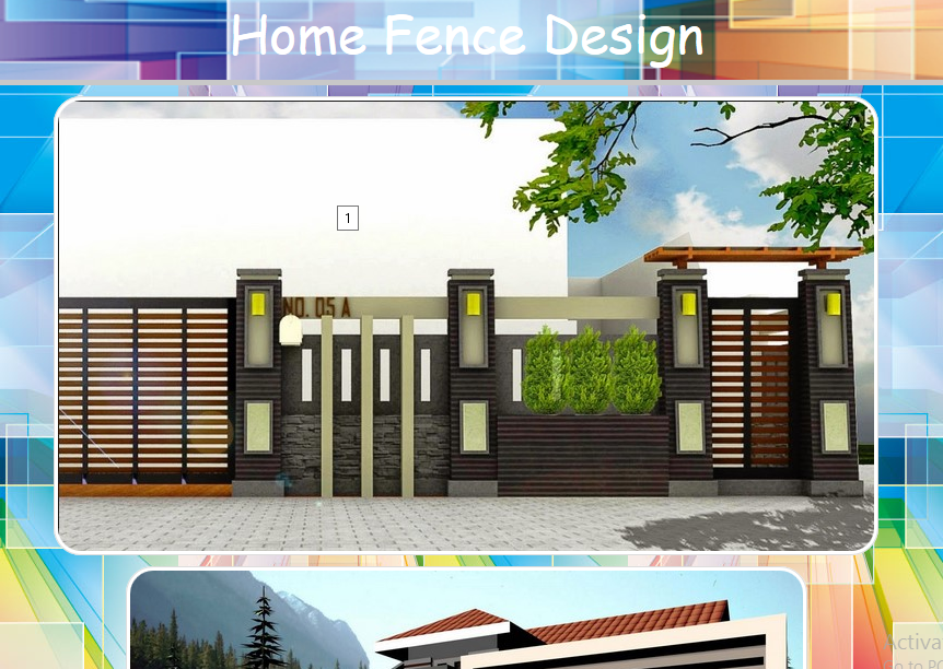 Home Fence Design  screenshotHome Fence Design   Android Apps on Google Play. Home Fence Design. Home Design Ideas