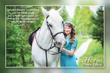 Horse Photo Editor - náhled