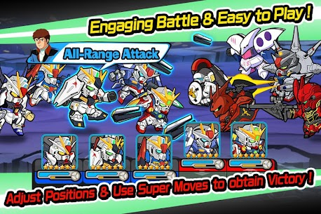 LINE: GUNDAM WARS Mod Apk Download For Android and Iphone 2