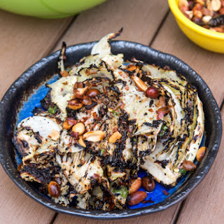Harold Dieterle's Grilled Cabbage With Chili Lime Vinaigrette