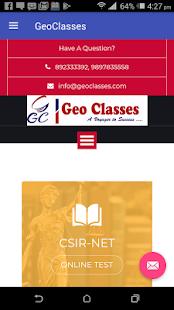GEO CLASSES - náhled