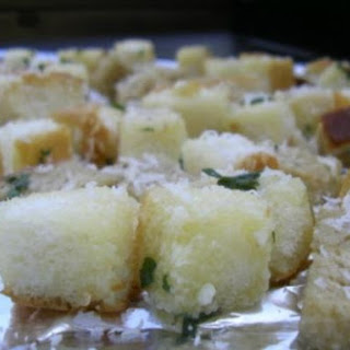 The Farming Wife's Homemade Croutons