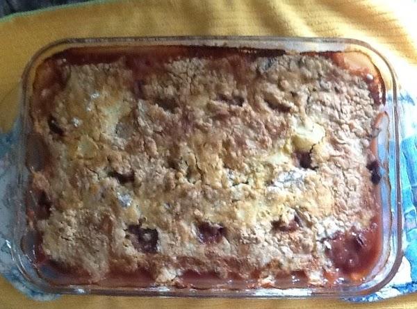 Easy Cake Mix Peach Cobbler Recipe
