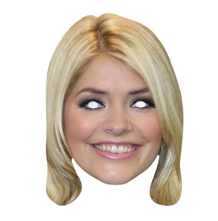 Pappmask, Holly Willoughby