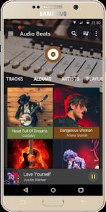 Audio Beats - Top Music Player, Media & Mp3 player Screenshot