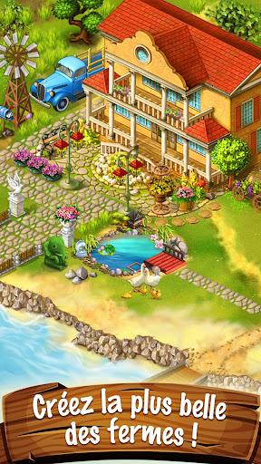 Code Triche La ferme Jane: construis la petite ville APK MOD screenshots 1