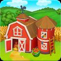 Farm Town: Happy farming Day & with farm game City icon