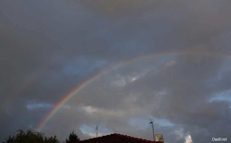 Arc-en-ciel un matin
