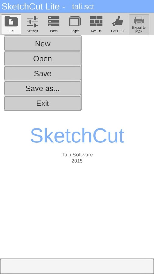 SketchCut Lite - Fast Cutting- screenshot