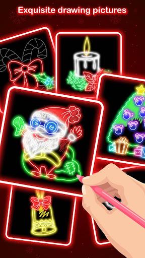 Draw Glow Christmas 2020 screenshots 1