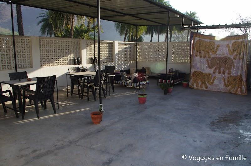 Bundi House terrasse