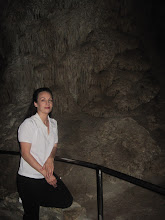 "Photo: ""The Big Room"" at Carlsbad Caverns... way, way underground now..."