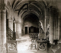 Photo: Eglise Saint- Julien- le - Pauvre ( 5 arr), 1904 .- EUGÈNE ATGET