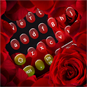 Romantic Red Rose Keyboard icon