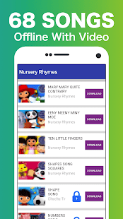 Little Baby Bum +60 Offline Nursery Rhymes Videos - náhled